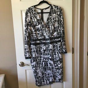 Printed wrap dress 🔥